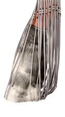 Furry Silver Indian Legwarmers