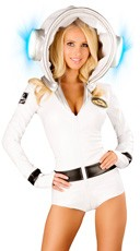 Astronauty Romper And Light-up Helmet