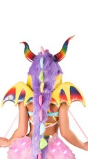 Rainbow Dragon Wings
