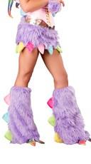 Rainbow Dragon Leg Warmers