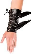 Black Warrior Spiked Gloves