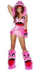 Deluxe Pink Monster Costume