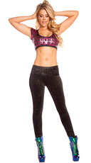 Dance Dance Crop Top Set
