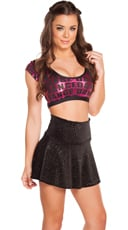 Dance Dance Crop Top Skirt Set