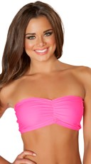 Cinch Front Tube Top