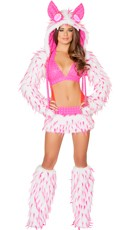 Pink Furry Rave Animal Set