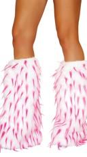 Spiked Fur Legwarmers