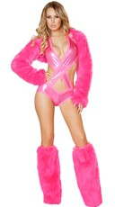 Hot Pink Rave Outfit