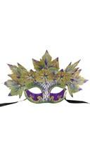 Venetian Styled Mask w/ Leaves