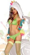 Rage'n Rainbow Tutu Bikini Set