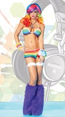 Rainbow Rave Girl