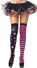 Stars And Stripes Thigh Highs