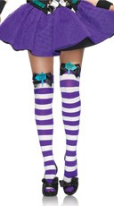 Mad Hatter Thigh Highs