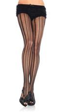 Vintage Pinstripe Pantyhose