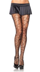 Spiderweb Net Pantyhose
