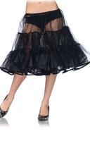 Shimmer Organza Knee Length Petticoat