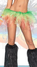 Jagged Edge Rainbow Tutu