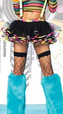 Ribbon Trim Tutu Skirt