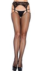 Extra Long Fishnet Stockings