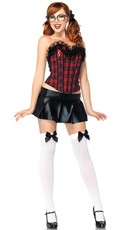 Peppy Schoolgirl Costume Kit