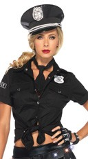 Police Shirt and Tie Kit