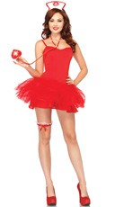 Naughty Nurse Costume Kit