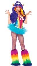 Sequin Rainbow Monster Costume Kit