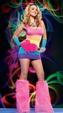 Rainbow Peace and Love Dance Set