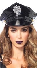 Vinyl Police Hat