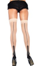 Nude Havana Heel Stockings