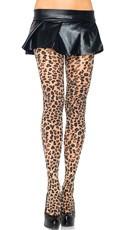Cheetah Print Pantyhose