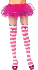 Cheshire Cat Striped Tights
