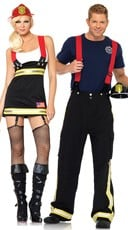 Firehouse Hotties Couples Costume