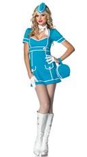 Classic Flight Attendant Costume