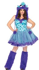 Plus Size Polka Dotty Costume