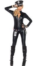 Catsuit Cop Costume Kit