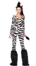 Wild Zebra Costume
