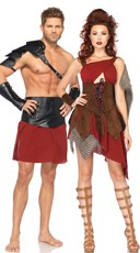 Deadly Warriors Couples Costume