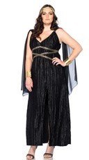 Plus Size Dark Goddess Costume