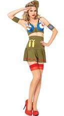 Bombshell Bomber Girl Costume