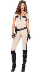 Sexy Khaki Cop Costume
