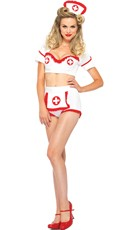 Retro Nurse Costume