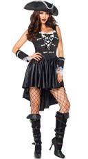 Sexy Black Pirate Costume
