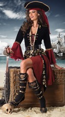 Crimson Pirate Costume