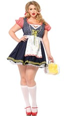 Plus Size Hillside Heidi Costume