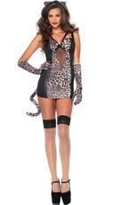 Retro Leopard Costume
