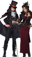 Vampire Manor Couples Costume
