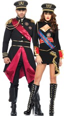 Military Dictators Couples Costume
