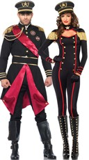 Military Generals Couples Costume