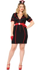 Plus Size Night Nurse Costume